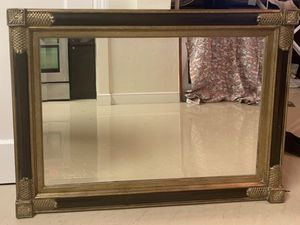 Gold wall mirror set includes two for Sale in Miami, FL