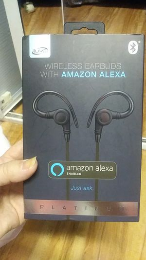 Wireless earbuds with Amazon Alexa for Sale in Lake Worth, FL