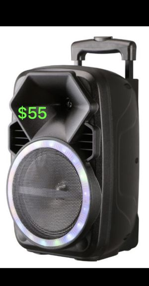 Trolley portable new nuevo karaoke bluetooth speaker for Sale in Las Vegas, NV