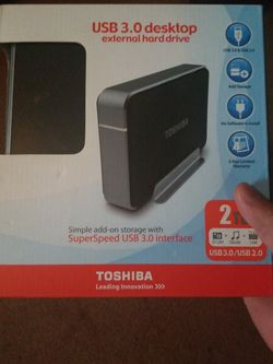Toshiba USB 3.0 External HDD for Sale in Monroeville,  PA