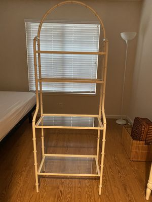 Metal and glass shelves for Sale in Manteca, CA