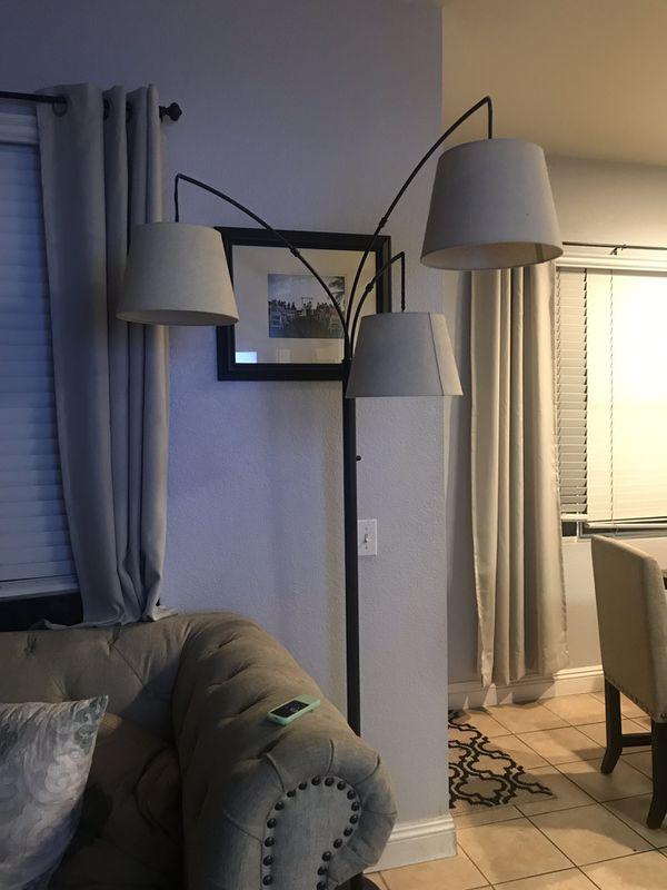 Threshold 3 Shade Arc Floor Lamp