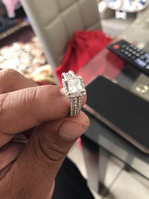 White gold ring for Sale in Moreno Valley, CA