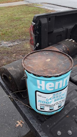 Henry tar and a roll of rubber for Sale in District Heights, MD