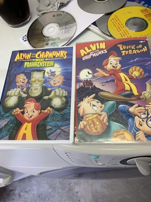 Alfred and The Chipmunks DVD. $5 for both! for Sale in Brea, CA