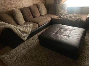 Couch and ottoman for Sale in Seminole, FL