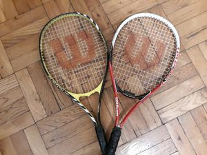 Tennis Rackets [Wilson Brand] for Sale in Yonkers, NY