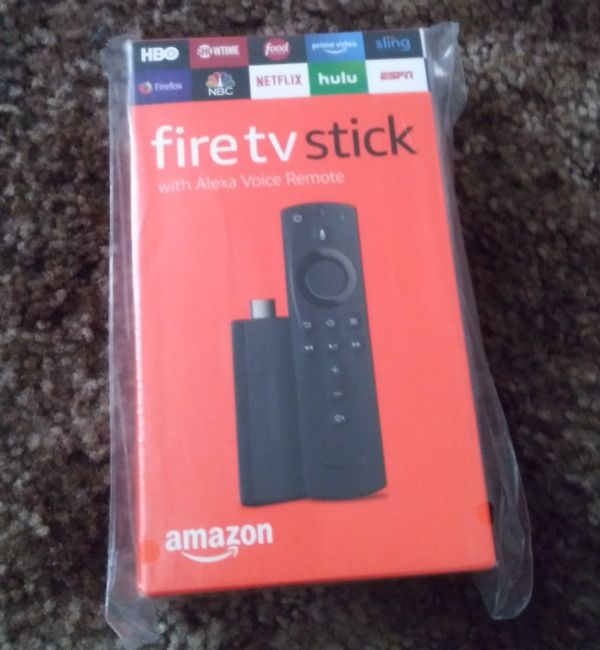 Amazon fireTVstick!