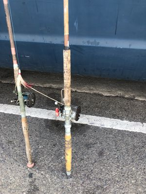 Vintage Fishing rods for Sale in Marina del Rey, CA