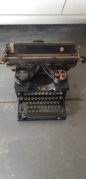 Royal typewriter 1920's-1930's for Sale in Ontario, CA