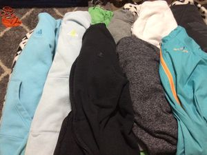 9 girls size 12/14 Nike,adidas,Colombia and champion for Sale in Hillsboro, OR