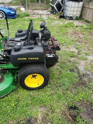 John deere commercial zero turn lawn mower for Sale in Riviera Beach, FL
