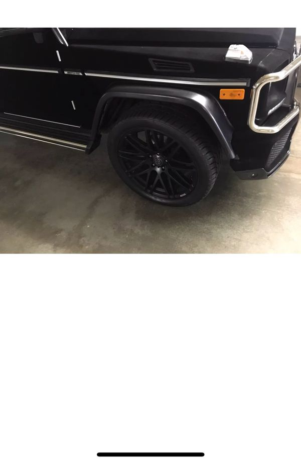 G class AMG style fender flares