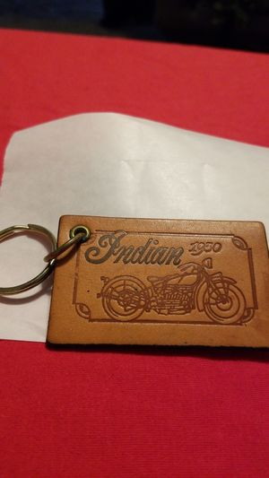 Indian Motorcycle leather key chain for Sale in Norco, CA