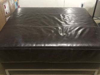 IKEA Leather Ottomans for Sale in Aliso Viejo,  CA