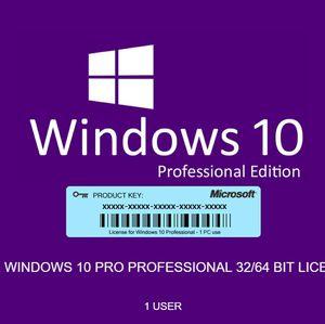 Windows 10 Pro 32/64Bits Genuine OEM Product Key for Sale in Las Vegas, NV