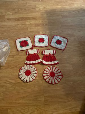 7 Adorable knitted pot holders for Sale in Phoenix, AZ