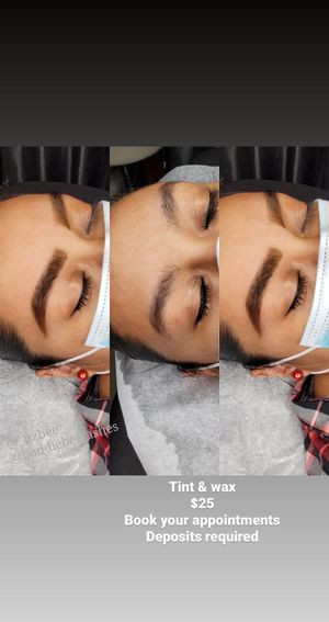 Eyebrow shaping with henna for Sale in Huntington Park, CA