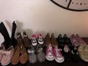 Size 6 toddler girl shoes for Sale in Fairfield, CA