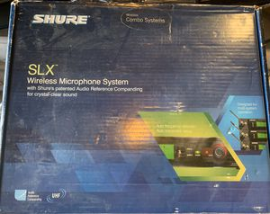 Sure SLX124/85 58 wireless mic system. for Sale in Castle Rock, CO