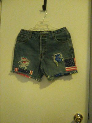 BLUE JEAN SHORT FLAG DESIGN for Sale in Indianapolis, IN
