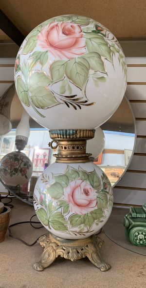 Vintage Double Globe Electric Lamp for Sale in Los Angeles, CA