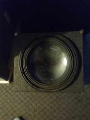 """Alpine type R 15"""" subwoofer for Sale in Minot, ND"""