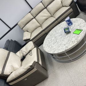 CLEARANCE POWERED SOFA AND CHAIR SET for Sale in Marietta, GA