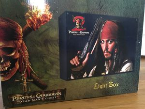 Pirates of the Caribbean: Jack Sparrow Light Box for Sale in Buffalo, NY