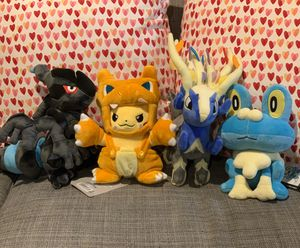 Pokémon plush lot of 5 for Sale in Maple Valley, WA