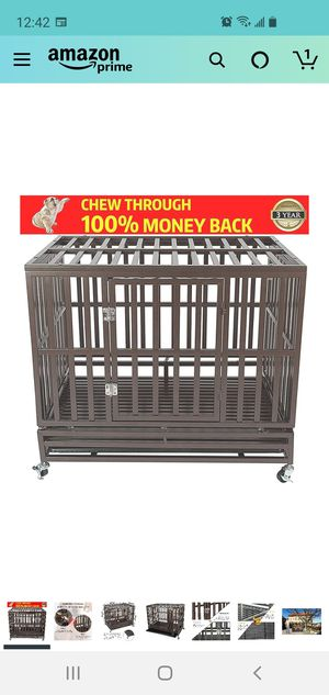 Large Dog Crate-Local pick up for Sale in Torrance, CA