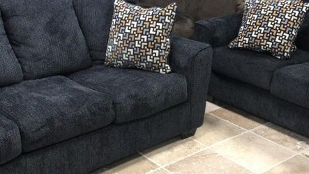 Wixon Slate Living Room Set ❌$39 Down Payment 100 Days Same As Cash for Sale in Austin,  TX