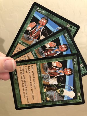 Magic the gathering. Recycle - tempest - near mint for Sale in Mesa, AZ