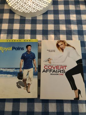 Covert affairs and royal pains complete first season of each for Sale in Prince George, VA