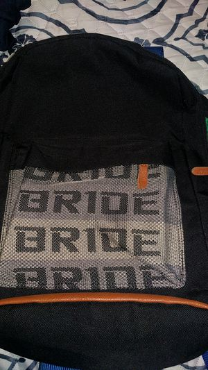 Sparco/Bride racing Backpack for Sale in Snohomish, WA