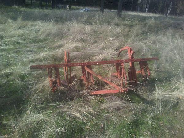 Tractor tiller