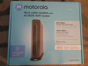Motorola Modem & Router Combo for Sale in Glen Burnie, MD
