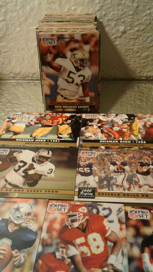 1991 nfl pro set football cards for Sale in Concord, CA