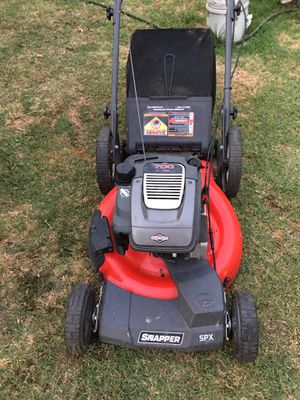 Snapper SPXV2270HW 700 Series 22-Inch Briggs & Stratton Gas Powered 3-In-1 FWD REACT Self Propelled Lawn Mower with High Rear Wheels. for Sale in Costa Mesa, CA