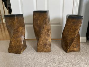 3 PIECE CANDLE SET - $25 for Sale in Yorba Linda, CA
