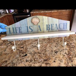 Wall Art Coat Hanger Key Hanger for Sale in Pompano Beach, FL