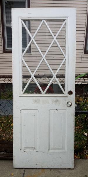 /*/*/*/* STEEL DOOR &. HALF GLASS *\*\*\*\ for Sale in Eastpointe, MI