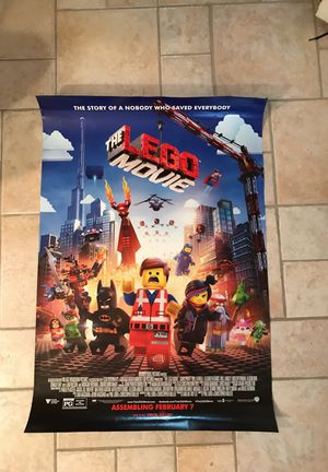 Lego movie poster for Sale in Detroit, MI