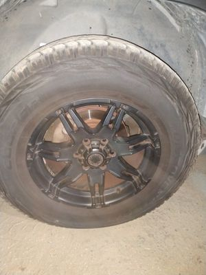 "New 18"" tires and rims for Sale in Clovis, CA"