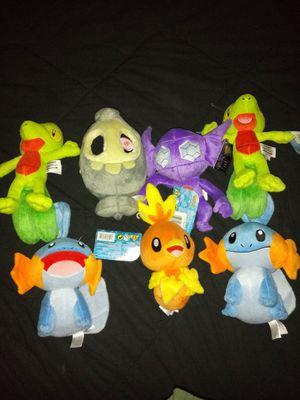 Gen 3 pokemon plushies for Sale in Bowie, MD