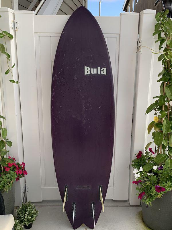 """6' 4"""" epoxy/EPS surfboard"""