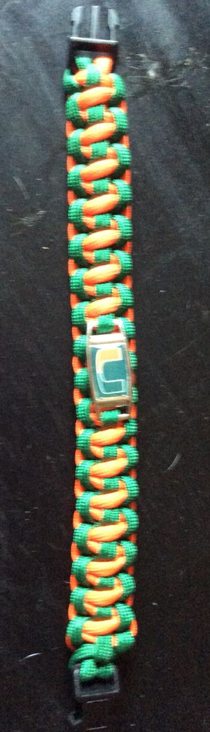 Hurricane colors. Bracelet 550 Paracord for Sale in Pembroke Pines, FL