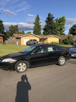 2015 Chevy Impala. Approx. 58k miles. Inside door air bags are out and seat belts don't work due to accident. Battery is 1 year old. It was last run for Sale in Tualatin, OR