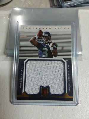 2012 momentum football Russell wilson patch /99 GOLD for Sale in ROCHESTER, NY