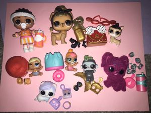 Lol Dolls lot of 8 for Sale in Portland, OR